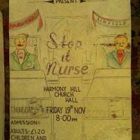 Stop It Nurse Poster 1983